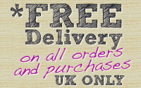 Free Delivery on All Purchases & Orders