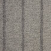 British Native Breed 100% Wool Throw Taupe Stripe