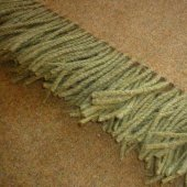 Art of the Loom 100% Wool Throw Nettle