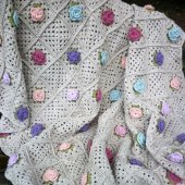 Hand Crocheted Throw